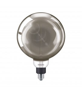 Ampoule LED E27 Philips décorative à filament - LED giant 25W E27 G200 4000K smoky D