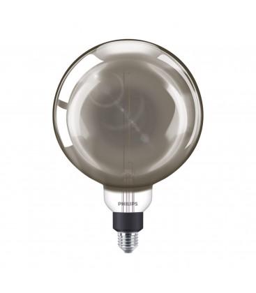 Ampoule LED E27 Philips décorative à filament - LED giant 25W E27 G200 4000K smoky D