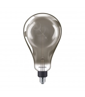 Ampoule LED E27 Philips décorative à filament - LED giant 25W E27 A160 4000K smoky D