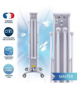 Dispositif Mobile de désinfection par UV-C - 8 Tubes - 300 W - MASTER - DEEPLIGHT®