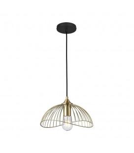 Lampe suspendue Astéria - Doré - Culot E27 - DeliTech®
