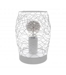 Lampe à poser Éole - Blanc - Culot E27 - DeliTech®