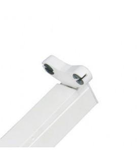 Réglette - Boitier Tube LED T8 Double Non Etanche 1200 mm