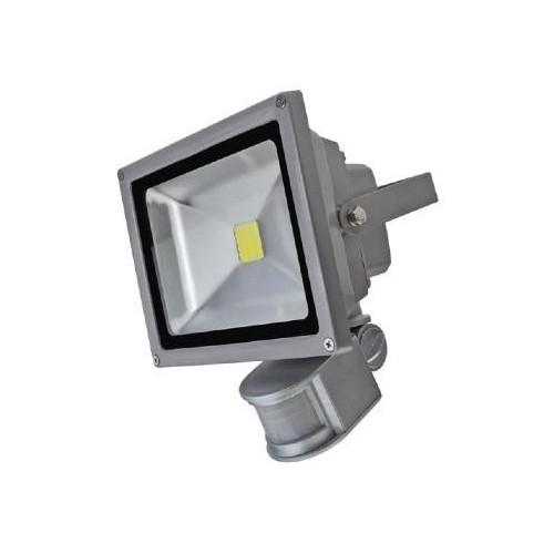 Projecteur led 240v avec d tecteur de mouvement 30w cob bridgelux for Projecteur led avec detecteur
