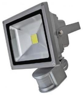 Projecteur LED 240V avec Détecteur de Présence - 50W - COB Bridgelux