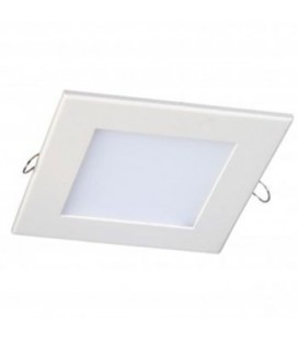 Dalle Encastrable Carrée Extra-plate - 120mm - 6W - SMD