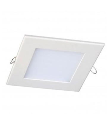 Dalle Encastrable Carrée Extra-plate - 150mm - 12W - SMD