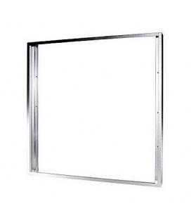 Cadre aluminium gris pour Dalle LED 60x60cm