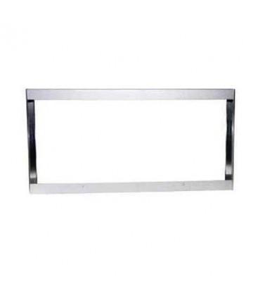 Boitier auminium gris pour Dalle LED 120x30cm