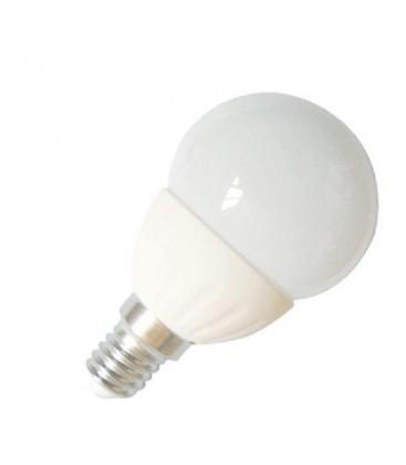 Ampoule LED E14 Ceramique G45 - 4W - SMD CREE