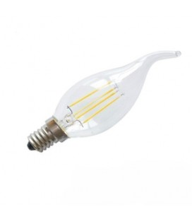5w Led Flamme E14 2 Filament Ampoule vm80Nwn