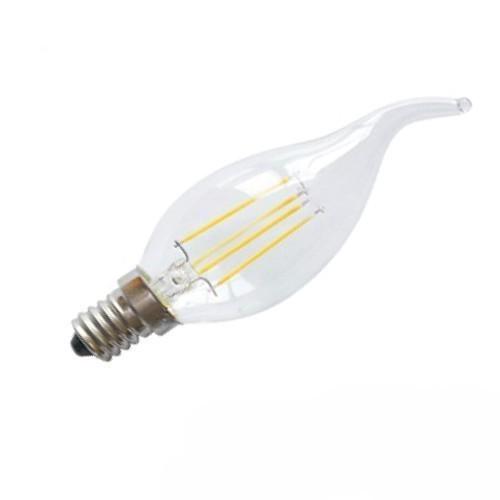 ampoule led e14 flamme 4w filament. Black Bedroom Furniture Sets. Home Design Ideas