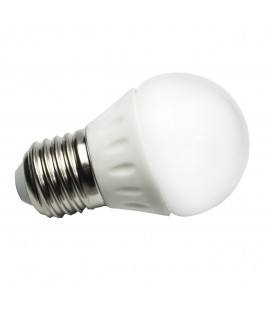 Ampoule LED - E27 - G45 - 4 W - SMD CREE - Ecolife Lighting®