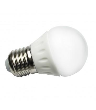 Ampoule LED E27 Ceramique G45 - 4W - SMD CREE
