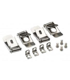 Accessoire Dalle LED - Clips pour encastrement - 4pcs