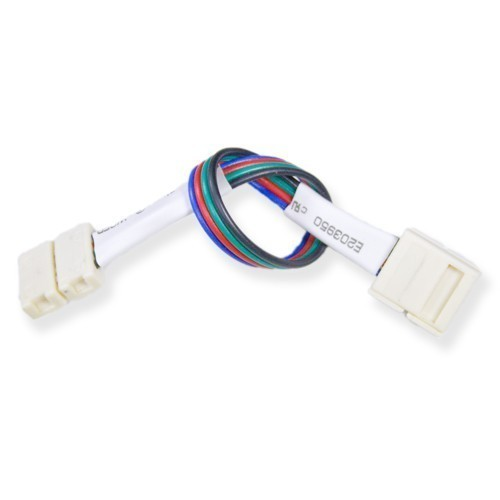 Connecteur bande led rgb 15w bande cable bande 10mm deliled - Connecteur ruban led ...