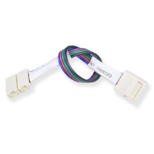 connecteur bande led rgb 15w bande cable bande 10mm deliled. Black Bedroom Furniture Sets. Home Design Ideas