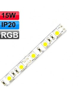 Ruban LED - 12V - 15W - IP20 - RGB