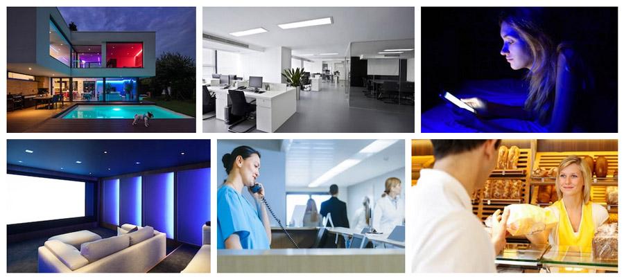 Les diverses utilisation de l'éclairage connecté Maestro™ par DeliTech !