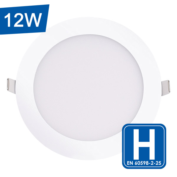 Encastrable LED extra-plat rond 12W