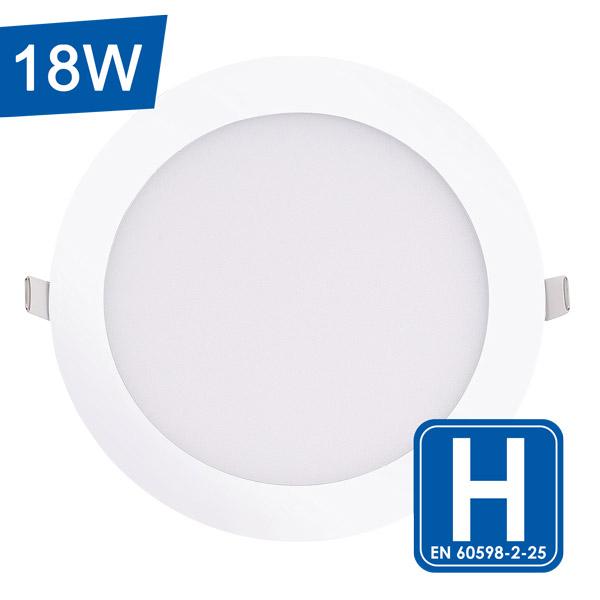 Encastrable LED Blanc e trond extra-plat 18W