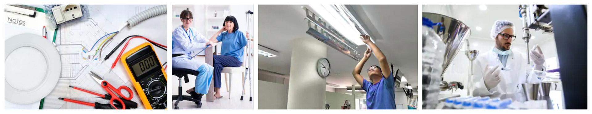 L'éclairage LED des hopitaux necessitera de plsu en plus la norme EN60598-2-25