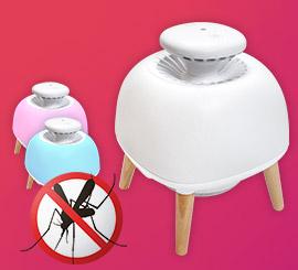 Profitez d'un été sans moustiques ! Avec la lampe aspirante MosquiLED.