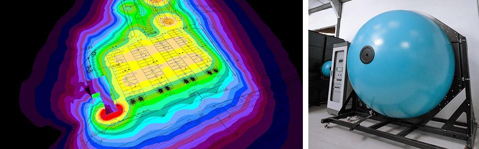 Études photométriques et Sphère d'intégration de DELILED