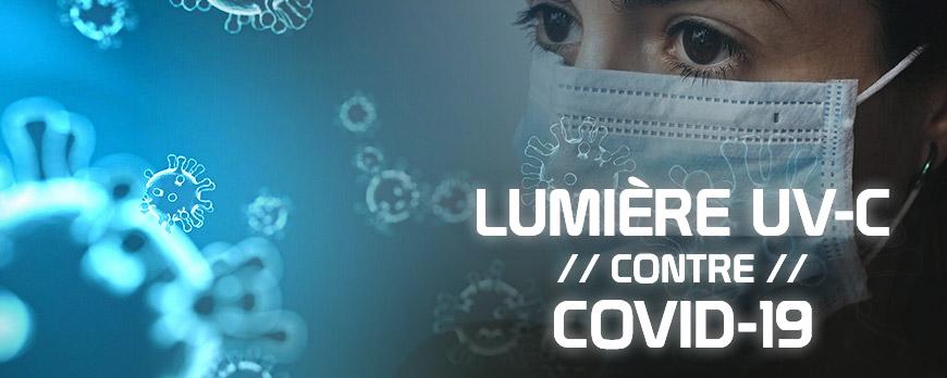 COVID-19 contre UV-C : détruisez 99,99 % des bactéries