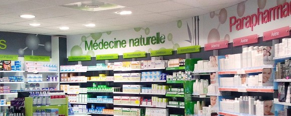 Eclairage pharmacies , parfumeries et bijouteries