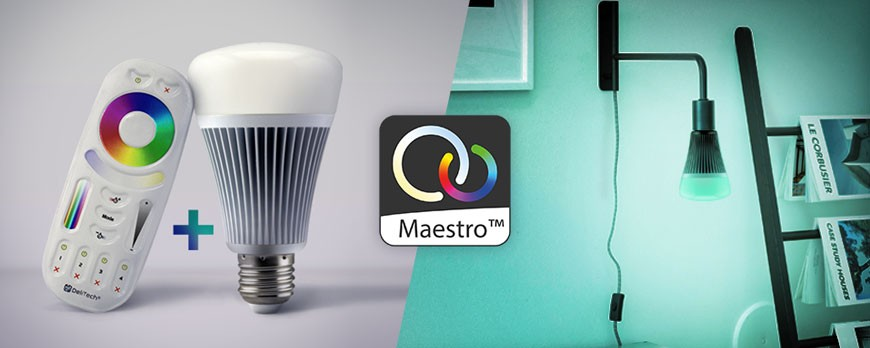 La technologie d'éclairage LED connecté, Maestro™ de DELILED fait parler d'elle !
