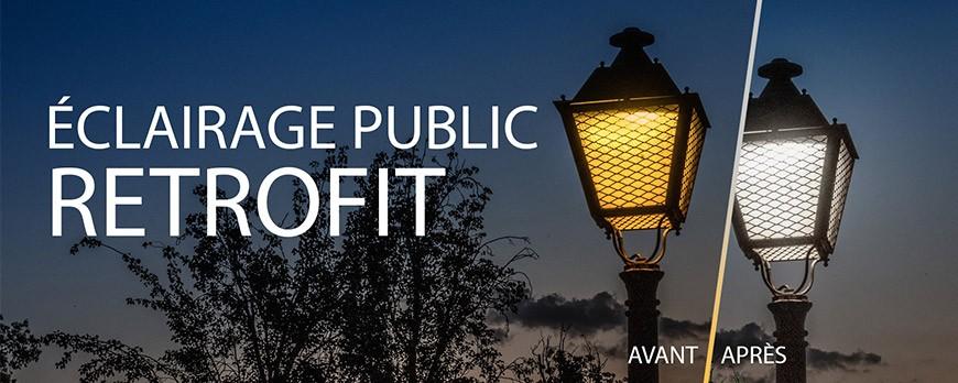 Comment rénover votre Éclairage Public en conservant vos lanternes ?